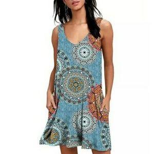 Leo Rosi Women's Beth Dress - Blue - Size: Small